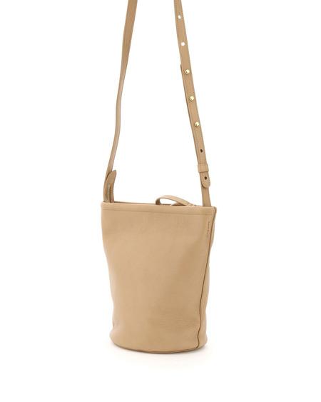 Mansur Gavriel Bucket zip Bag - natural