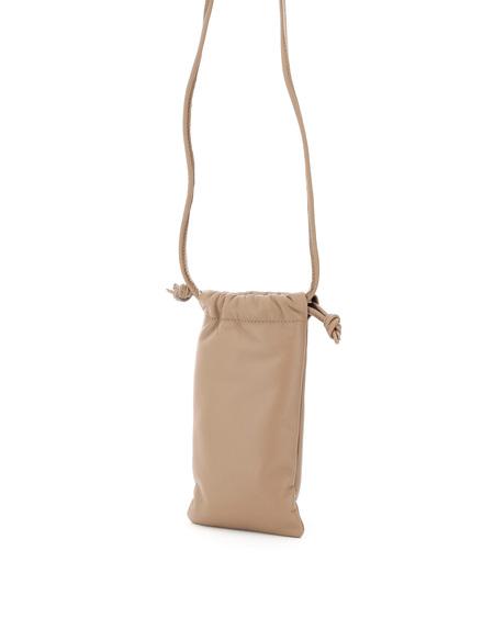 Mansur Gavriel Pillow Necklace Bag - Natural