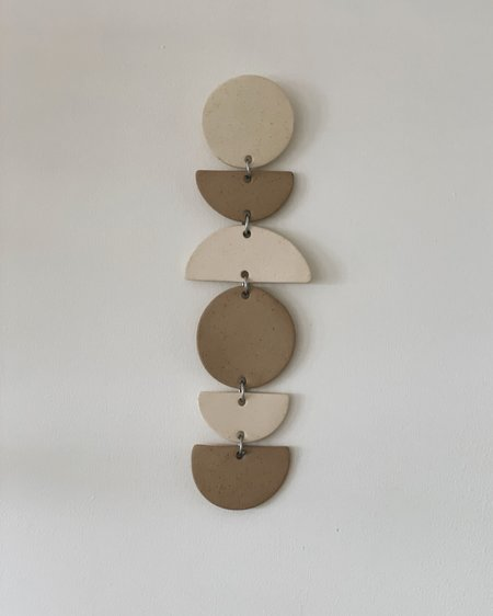 """Jenna Leigh Ceramics 12"""" Ceramic Wall Hanging"""