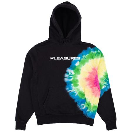 PLEASURES Eclipse Embroidered Hoody sweater - Black