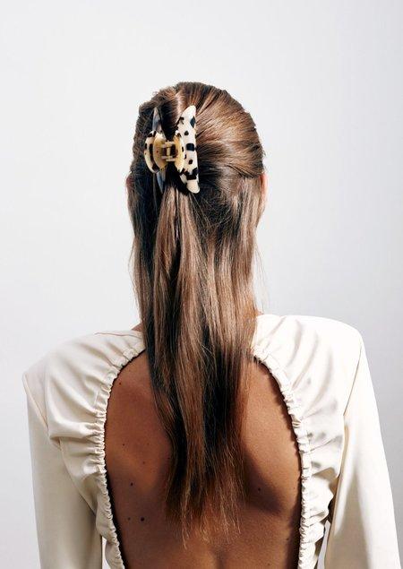Machete Grande Hairloom Claw - Tortoise Checker