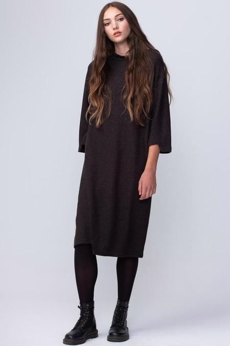 Valerie Dumaine Ren DRESS - Charcoal