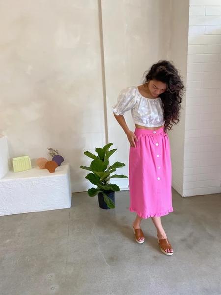 Hannah Isolde la campagne skirt - pink