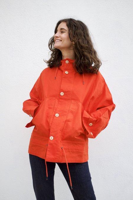Girls of Dust Nuclear Rain Jacket - Orange