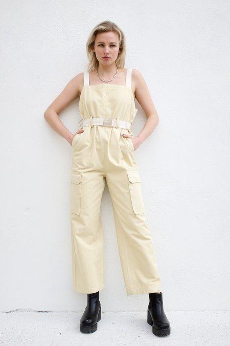 Rachel Comey Venerate Jumpsuit - Butter