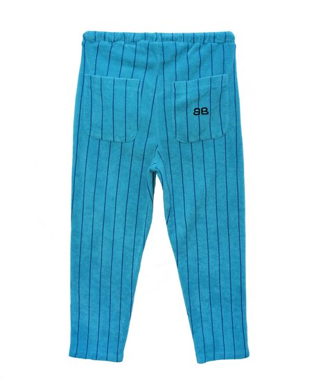 kids Bandy Button Nona Jogging Pant - turquoise/Navy