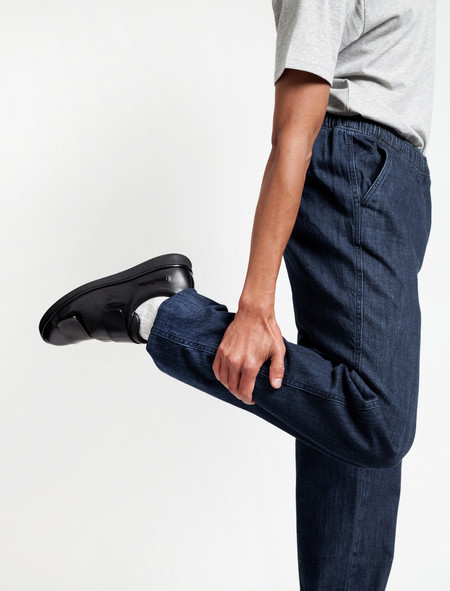 Our Legacy Relaxed Trousers Blue Denim