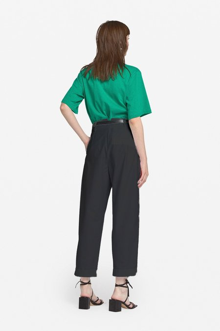 Ottod'Ame Carrot Trousers - Black