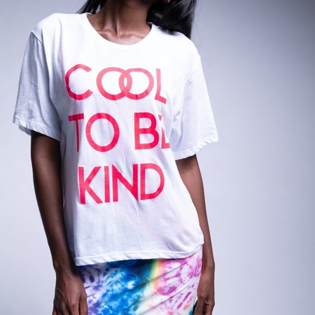 Le Superbe Cool To Be Kind Tee - WHT