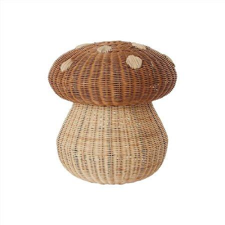 OYOY Mushroom Basket - natural