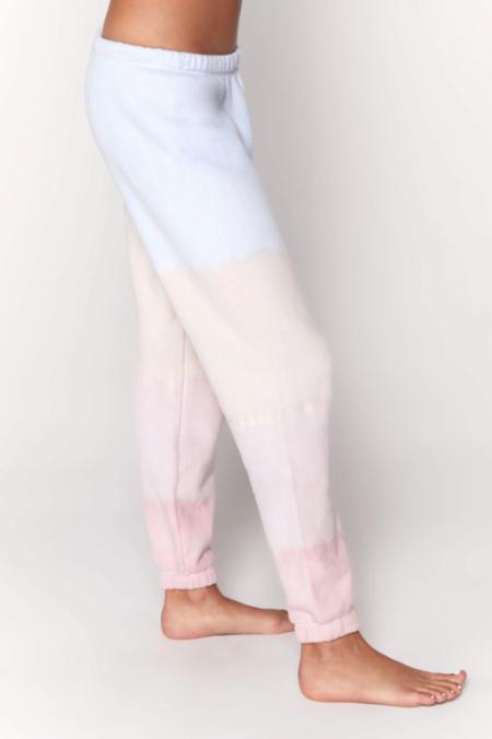 Spiritual Gangster Perfect Terry Sweatpant - seashell tie dye