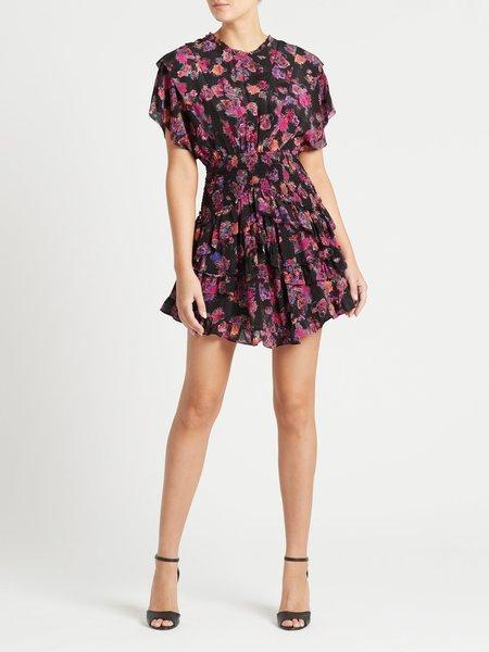 IRO Lakie Dress - Black/Pink