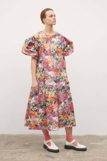 Kowtow Dusk Dress - hazy-floral