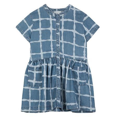 Kids Stella McCartney Child Tie Dye Dress - Denim Blue