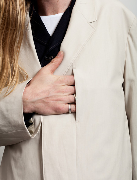 Lemaire Suit Coat Limestone