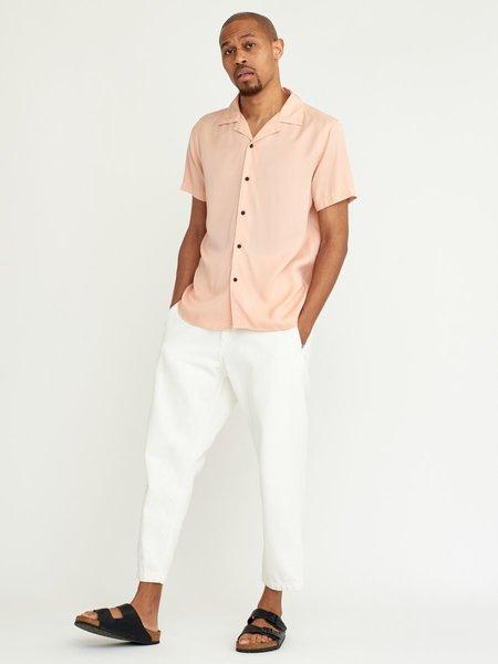 Wax London Didcot Shirt - Dusty Pink