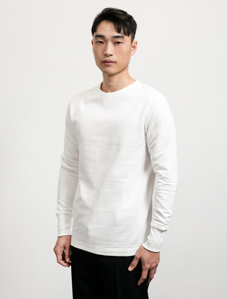 Lemaire Sweatshirt Chalk
