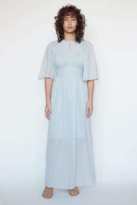 Christine Alcalay Maya Cotton Chiffon Dress