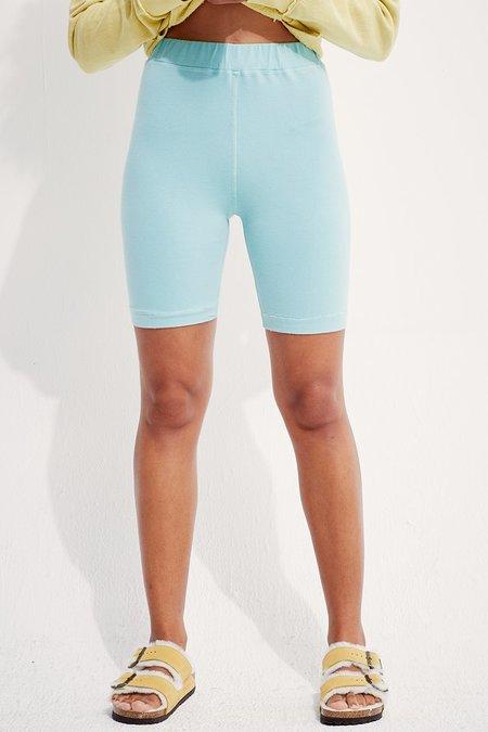 back beat rags Organic Cotton Biker Shorts - Foam