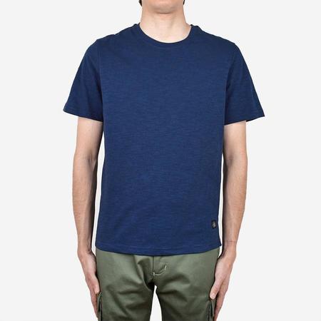 Outclass Slub Short-Sleeve T-Shirt - Indigo