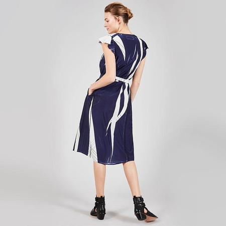 Cotelac Sleeveless tie dress - Geometrie Variable