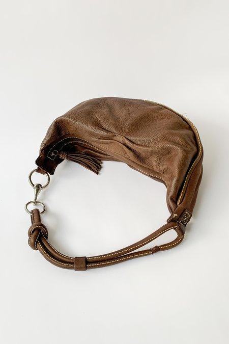 Vintage Leather Purse bag - Brown