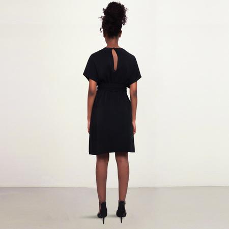 Studio Heijne Sunday Short Cady Dress - Black