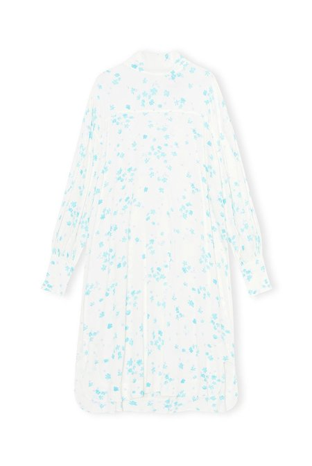 Ganni Oversized Dress - Egret