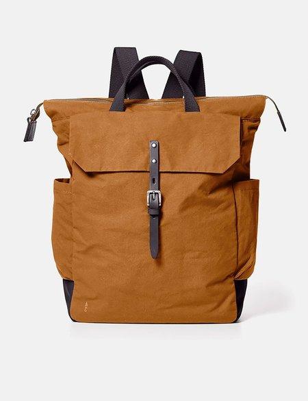 Ally Capellino Fin Hybrid Waxy Rucksack bag - Brown