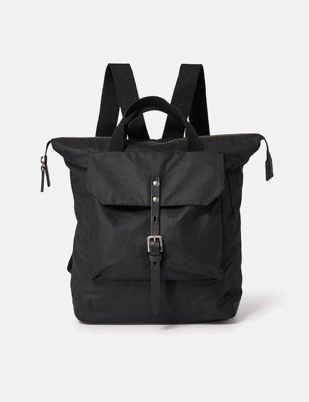 Ally Capellino Frances Hybrid Waxy Rucksack bag - Black