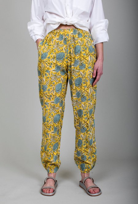 Mille Isla Pant - Yellow Floral
