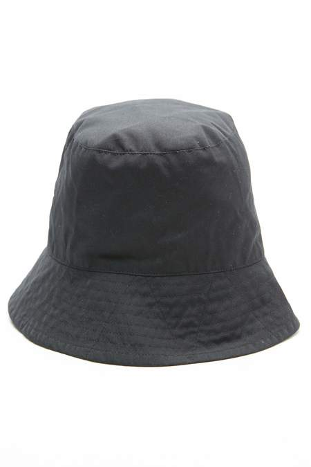 Engineered Garments  PC Poplin Bucket Hat - Black