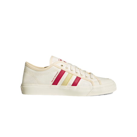 Unisex adidas x Wales Bonner Nizza LO S42621 sneakers - White