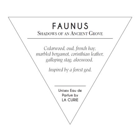 La Curie Faunus Perfume