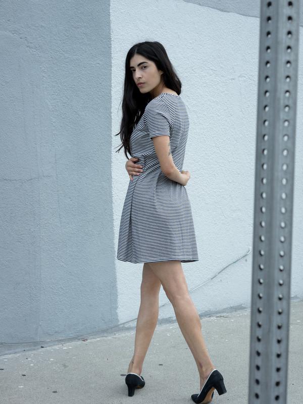 Calder Blake Viv Picasso Stripe Dress