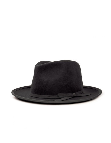 Brixton Manhattan Fedora Black