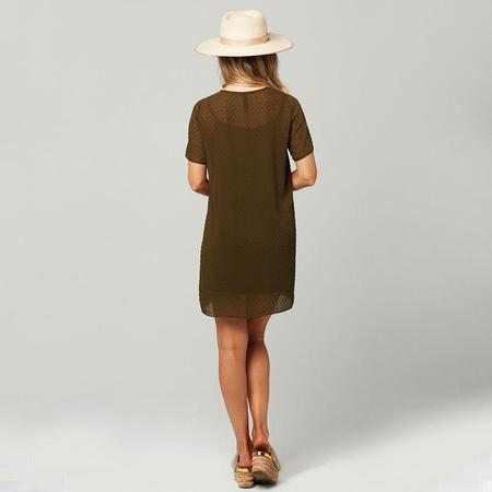 Knot Sisters Cici Dress - Military Green