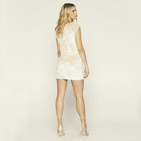 Knot Sisters Disco Dress - Champagne