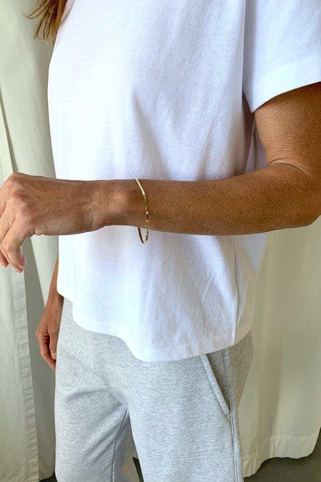 Loren Stewart Herringbone Bracelet - Gold