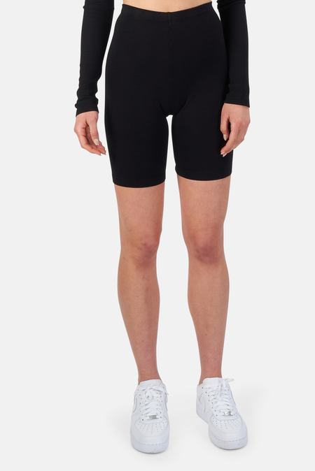 Cotton Citizen Milan Biker Short - Jet Black