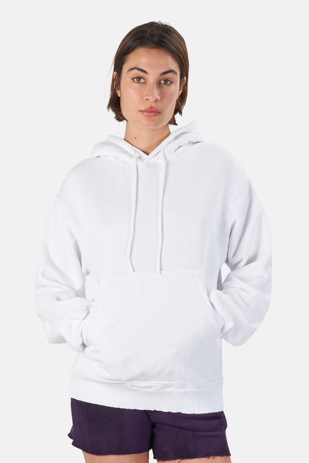 Cotton Citizen Brooklyn Oversized Hoodie Sweater - White