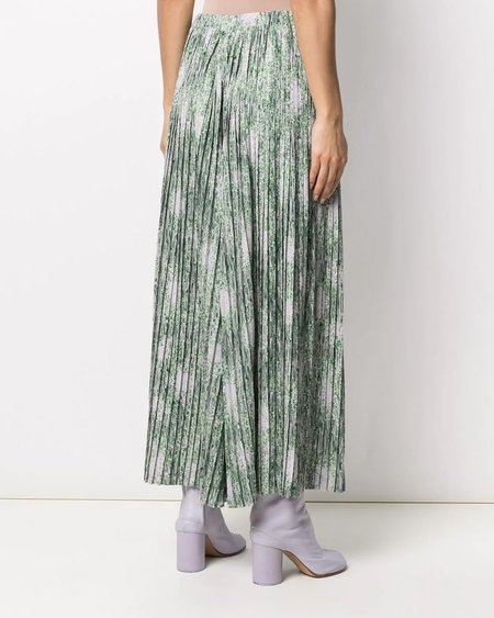 HENRIK VIBSKOV Jelly Pants Plisse - Melted Green