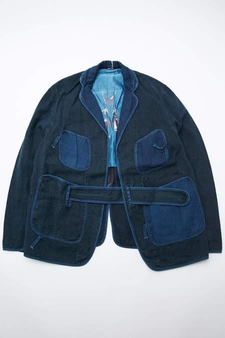 Kapital Kountry Idg Do-gi Canvas Jacket - Indigo
