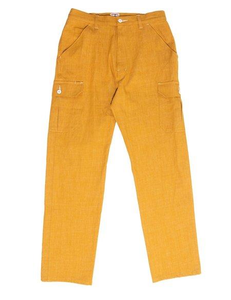 Randy's Garments Cargo Pant - Industrial Yellow Denim