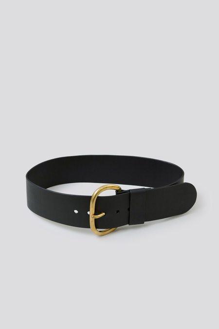 Rachel Comey Wide Estate Belt - Black
