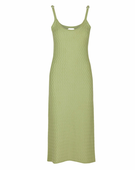 House of Sunny Point Break Dress - Sissi Grass