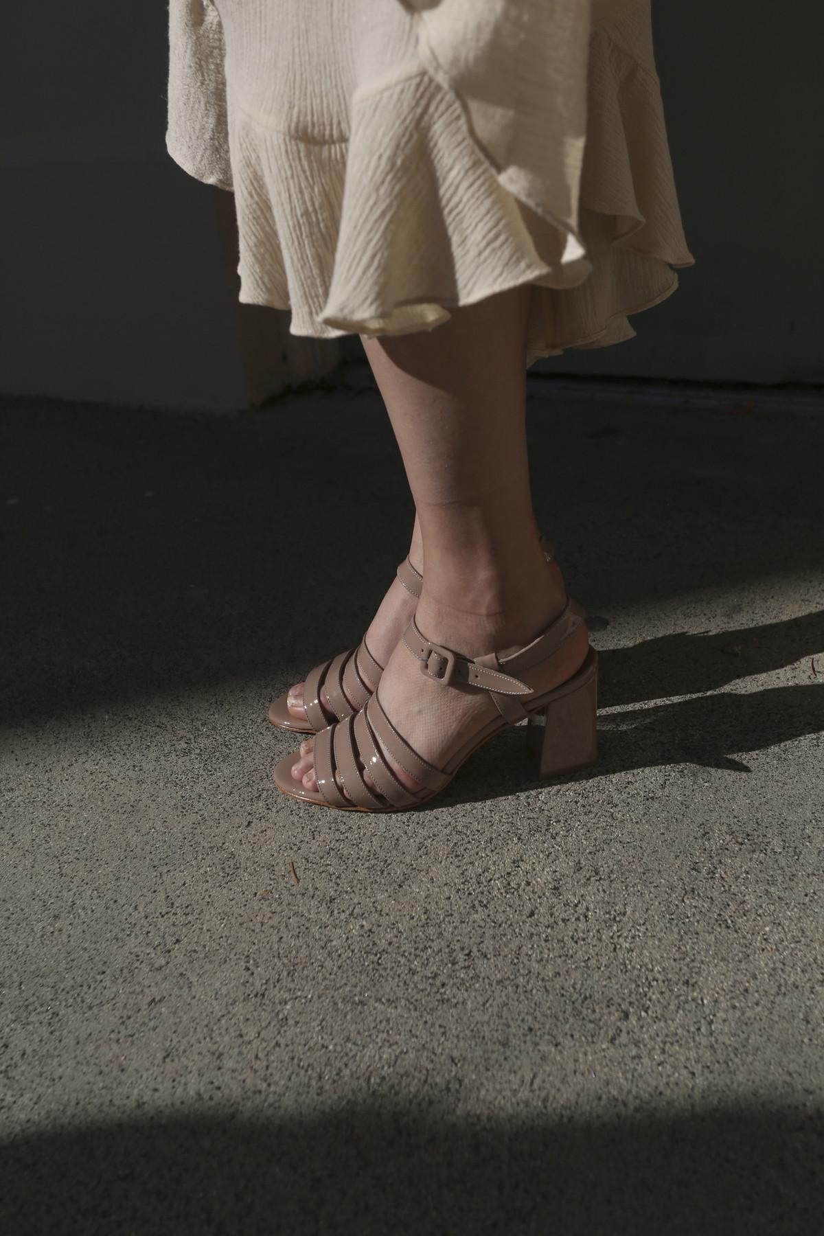 MARYAM NASSIR ZADEH Palma High patent leather sandals p6F6DmU8