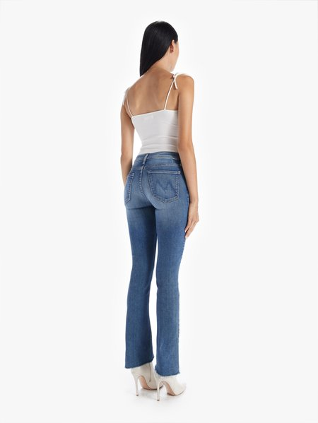 Mother Denim Runaway Step Fray Jeans - Leaps and Bounds