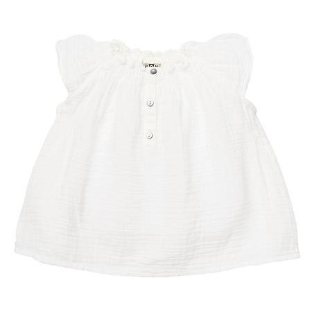 kids Bonton Baby Perrine Blouse - White