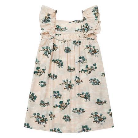 Kids Bonton Lambada Dress - Vintage Print Pink